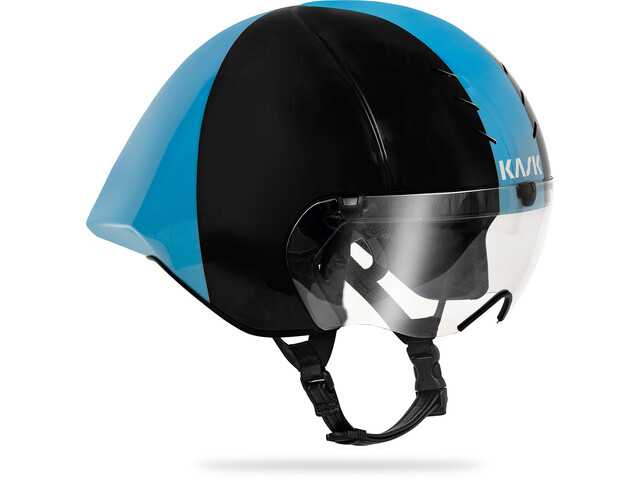 Kask Mistral Kask rowerowy, black/light blue